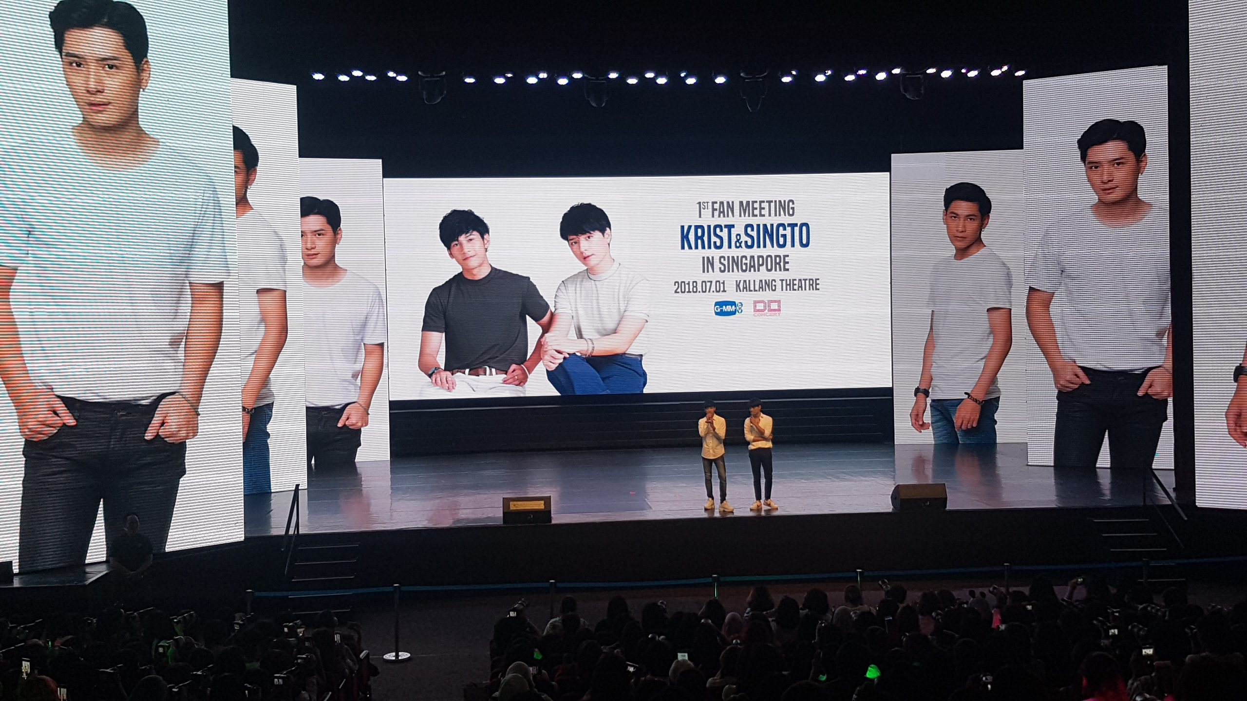 KRIST & SINGTO 1st FAN MEET IN SINGAPORE 2018