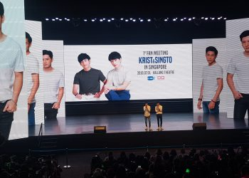 KRIST & SINGTO 1st FAN MEETING IN SINGAPORE