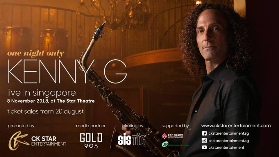 Kenny G Concert Singapore