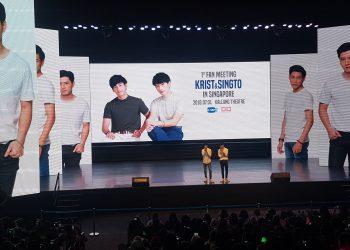 KRIST & SINGTO 1st FAN MEET IN SINGAPORE 2018